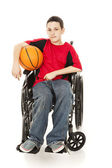 Young Athlete - Disability — Stock Photo
