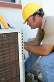 Air Conditioning Repairman 1 — Stock Photo