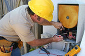 Air Conditioning Repairman 2 — Stock Photo