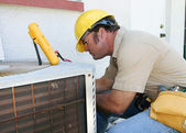 Air Conditioning Repairman 4 — Stock Photo