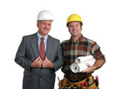 Engineer & Contractor — Stok fotoğraf