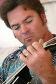 Człowiek mandolina, jeden — Zdjęcie stockowe