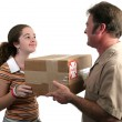 Receiving Delivery 2 — Stock Photo #6781645