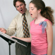 Stock Photo: Voice Lesson