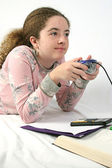 Student Gamer — Stock Photo