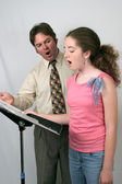 Voice Lesson — Stock Photo