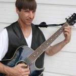 Blues Guitarist 3 — Stock Photo