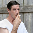 Down & Out Smoker — Stock Photo