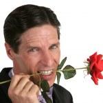 Романтический любовник — Стоковое фото