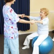 Royalty-Free Stock Photo: Physical Therapy Workout