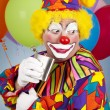 alcoholische clown — Stockfoto #6802241