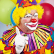 Angry Clown — Stock Photo