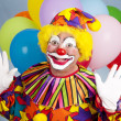 Stock Photo: Birthday Clown - Surprise