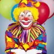 Birthday Clown Open Handed — Stock Photo #6802260