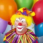 Birthday Clown — Stock Photo