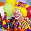 Clown Snaps Fingers - Stockfoto