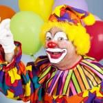 Clown Snaps Fingers — Stock Photo