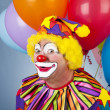 Funny Birthday Clown — Stockfoto #6802393