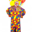 Funny Clown Full Body — Foto Stock