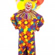 Funny Clown Full Body — 图库照片
