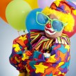 Gangsta Clown — Stock Photo