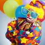 Gangsta Clown — Stock Photo