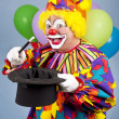 magische clown — Stockfoto #6802433