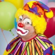 trauriger Clown — Stockfoto