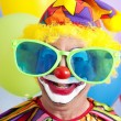 Silly Clown - Stock Photo