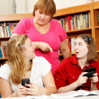 Caught Goofing Off at School — Stock Photo #6802622