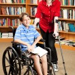 Disabled Kids at School - Stock Photo