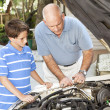 Family Repair Project — Stock Photo #6802661