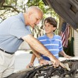 Father Son Project — Stock Photo #6802676