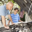 Learning Auto Repair — Stock Photo