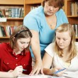 School Library - Serious Studies — Stock Photo #6802745