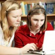Serious Studying Online — Stock Photo #6802753