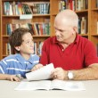 Tutoring From Dad — Stock Photo #6802827