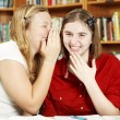 Whispering in Class — Stock Photo #6803182