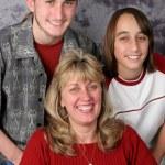 Holiday Family Portrait — Stock Photo