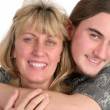 Mother & Son Affection — Stock Photo