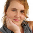 Red Haired Teen Girl 3 — Stock Photo