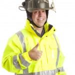 Friendly Fireman - Thumbsup — Stock Photo #6804626