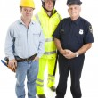Group of Blue Collar Workers — Stock Photo