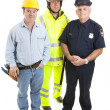 Royalty-Free Stock Photo: Group of Blue Collar Workers