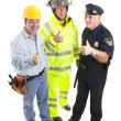 Group of Workers - Thumbsup — Stock Photo #6804646