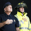 Heroic First Responders — Stock Photo