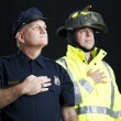 Stock Photo: Heroic First Responders
