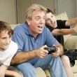 Royalty-Free Stock Photo: Male Bonding - Video Games
