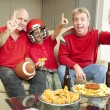 Number One Football Fans — Stock Photo