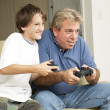 Stock Photo: Video Game Fun